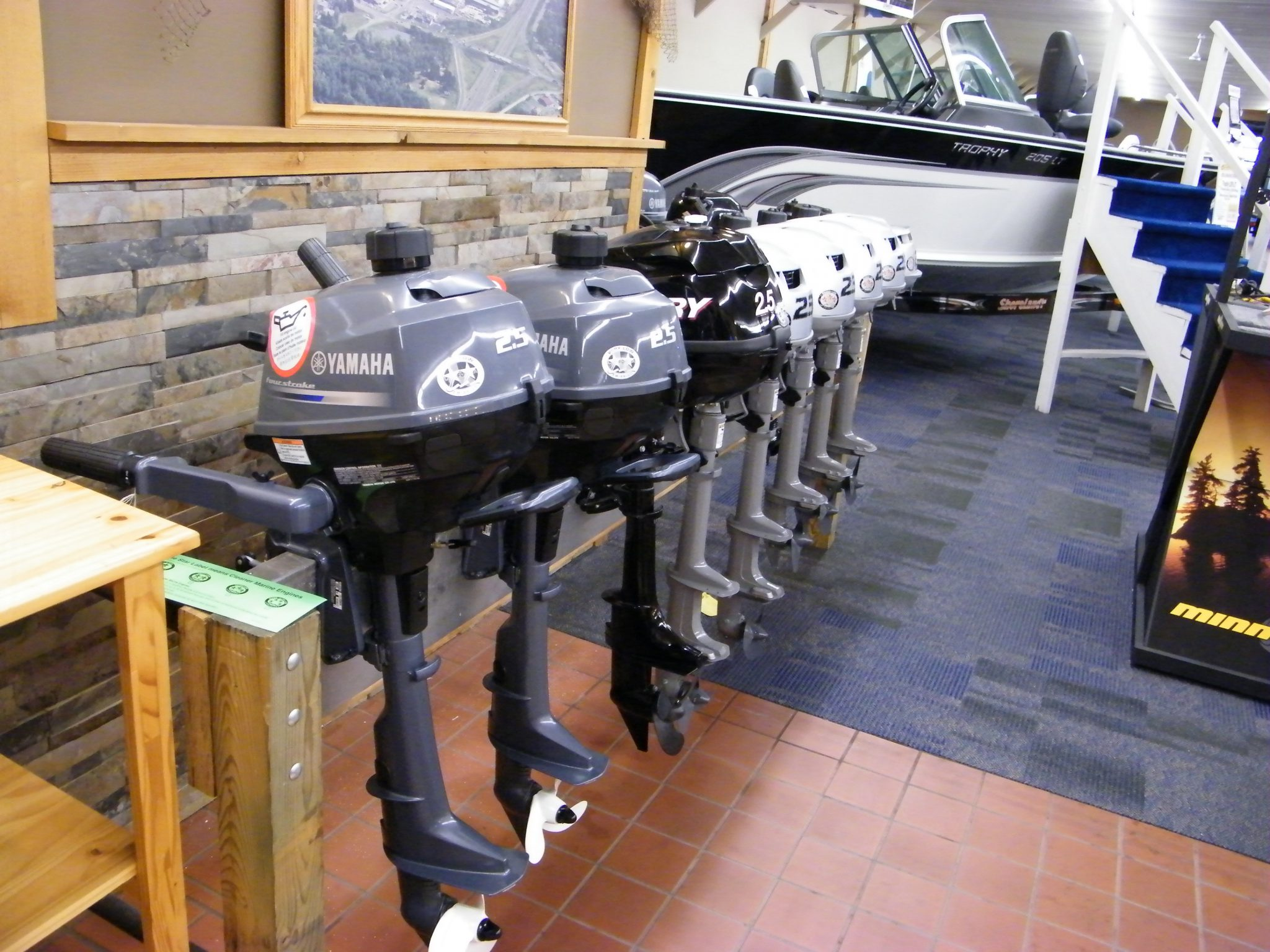 New Motors - Hallberg Marine